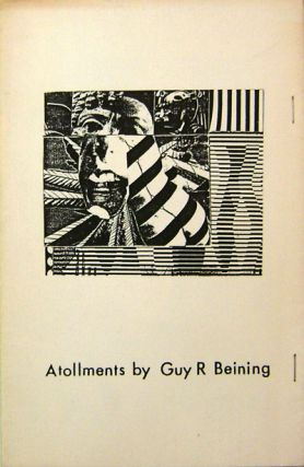 Atollments. Guy R. Artist Book - Beining