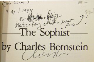 The Sophist (Inscribed)