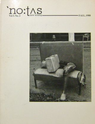 No:tus New Writing Vol 3 No. 2 (With flexi-disk). Pat Smith, J. H. Prynne Jerome Rothenberg,...