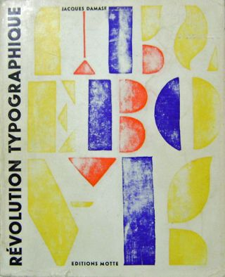 Revolution Typographique depuis Stephane Mallarme. Jacques Typography / Concrete Poetry - Damase
