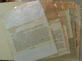 Collection of Correspondence Between Marvin Bell and Charles Simic - 11 T.L.S. and 2 Postcards....