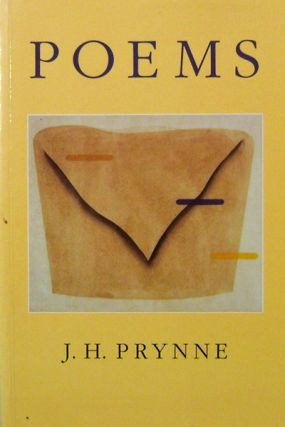 Poems (Inscribed). J. H. Prynne