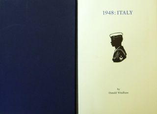1948: Italy (Inscribed); Letters To Sandy. Donald Windham