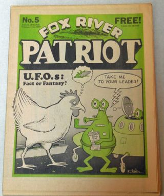 Fox River Patriot No. 5. Michael Alternative Newspaper - Jacobi, Denis Kitchen, Art