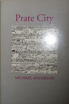 Prate City (with 1 Page Handwritten Note). Michael Anderson.