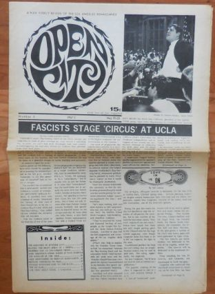Open City Number 3 (May 19-25). John Underground Newspaper - Bryan, John Wilcock Charles...