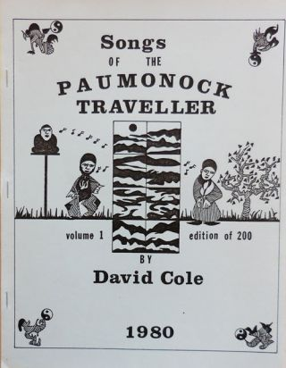 Songs of the Paumonock Traveler. David Rubber Stamp Art - Cole