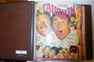Laugh-In Magazine Volume 1 Number 1 through Volume 1 Number 12 (12 consecutive issues)....