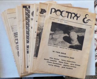 Poetry & (17 Early Issues). JoAnn Castagna, Richard Bastian Alan Davies, Elizabeth Eddy, Joel...