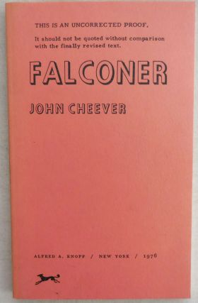 Falconer (Uncorrected Proof). John Cheever