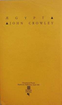 Aegypt (Uncorrected Proofs). John Fantasy - Crowley