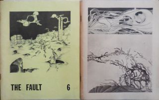 The Fault No.s 6 and 8 (Two Volumes). Rustie Cook, Lyn Lifshin Carol Berge, Jack Hirschman,...
