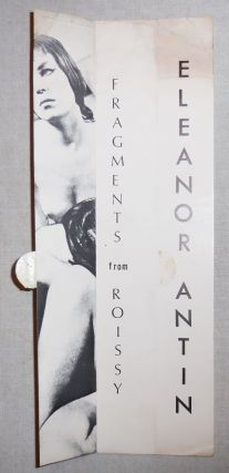 Gallery Announcement Card Molly Barnes Gallery 1968 - 1969 Fragments From Roissy. Eleanor Art...