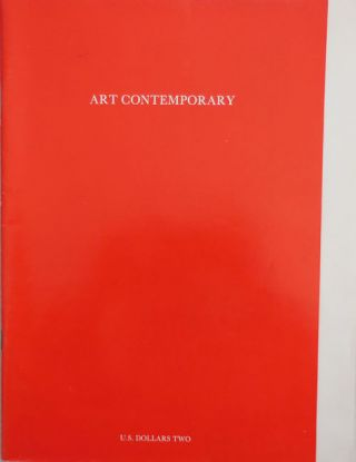 La Mamelle Magazine: Art Contemporary Volume 2 Number 2/3. Chris Burden Ron Silliman, Willoughby...