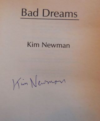 Bad Dreams (Signed)