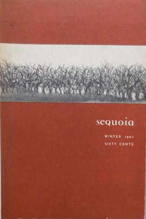 Sequoia Stanford Literary Magazine Winter 1962. Gary Dickson, Ron Padgett James Thurber, E. Jack...