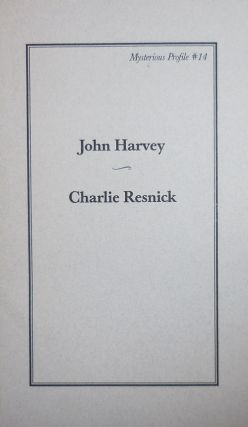 Charlie Resnick (Mysterious Profile #14). Hohn Crime - Harvey