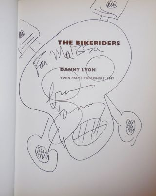 The Bikeriders (Inscribed with Original Drawing)