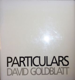 Particulars. David Photography - Goldblatt