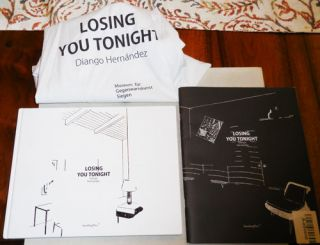 Losing You Tonight. Diango Artist Book - Hernandez