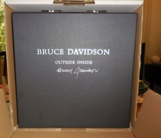 Outside Inside (Three Volumes Set, Signed). Bruce Photography - Davidson