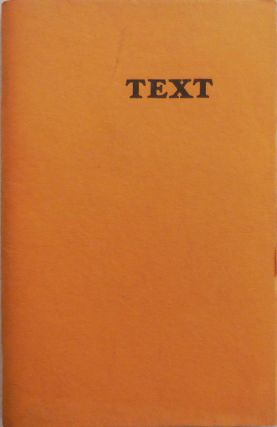 Text Winter 76 - 77. Mark Karlins, Cid Corman Thomes Meyer, Frank Samperi