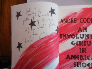 An Involuntary Genius In Ameroca's Shoes (and What Happened Afterwards) Inscribed Copy