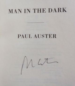 Man In The Dark (Signed)
