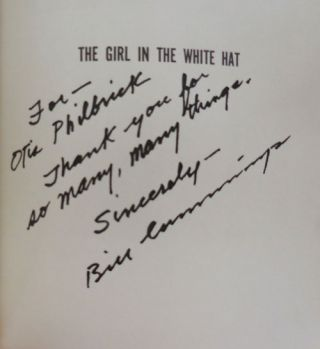 The Girl In The White Hat (Inscribed)