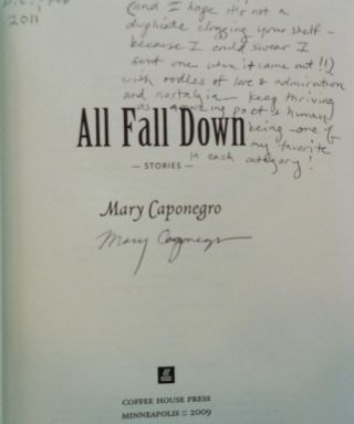 All Fall Down (Inscribed)