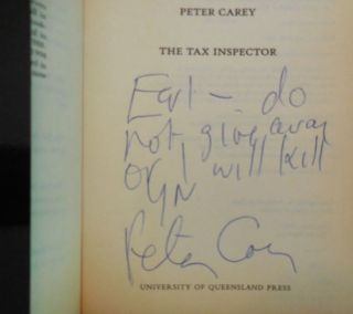 The Tax Inspector (Inscribed)