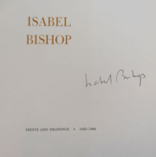 Isabel Bishop Prints and Drawings 1925 - 1964 (Signed)