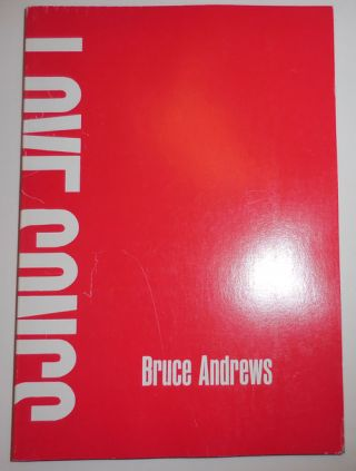 Love Songs. Bruce Andrews.