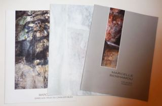 Three Artist Catalogs. Marcelle Art - Benhamou