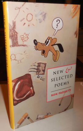 New & Selected Poems (Inscribed). Ron Padgett