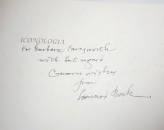 Iconologia (Inscribed Copy)