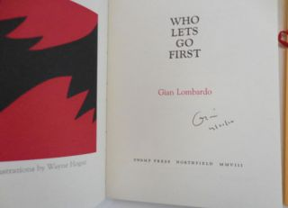 Who Lets Go First [with] Who Lets Go First Volume II: Instructions for Throwing a hexagram (Signed)