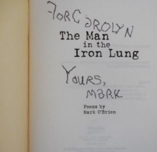 The Man in the Iron Lung (Inscribed)