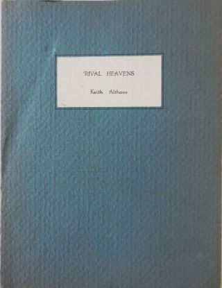 Rival Heavens (Inscribed). Keith Althaus.