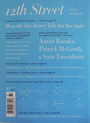 12th Street Issue 4 (Signed by Baraka). Mario Alberto-Zambrano, Patrick McGrath Amiri Baraka, Sam...