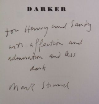 Darker (Inscribed)