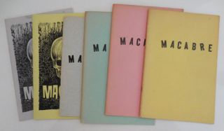 Macabre (Six Issues) #7, 13, 14, 21, 22 and 23 with Signed Postcard). Horror, Joseph Payne...