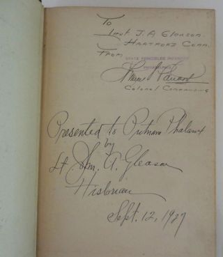 One Hundred Years with the State Fencibles 1813 - 1913 (Inscribed)