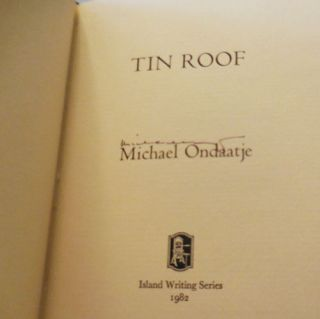 Tin Roof (Signed)