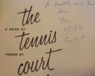 The Tennis Court Oath (Inscribed to Fellow Poet and Spouse)