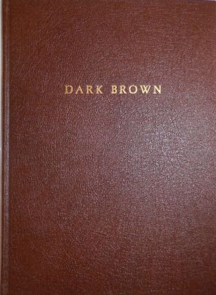 Dark Brown (Signed Limited Edition). Michael Beats - McClure
