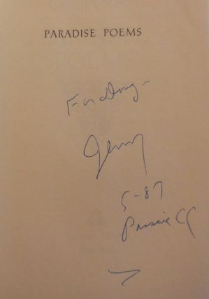 Paradise Poems (Inscribed)