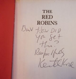 The Red Robins (Inscribed Uncorrected Proof)