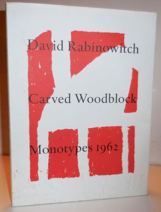 Carved Woodblock Monotypes 1962. David Art - Rabinowith