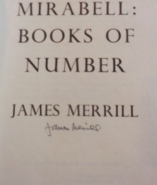 Mirabell: Books Of Number (Signed)